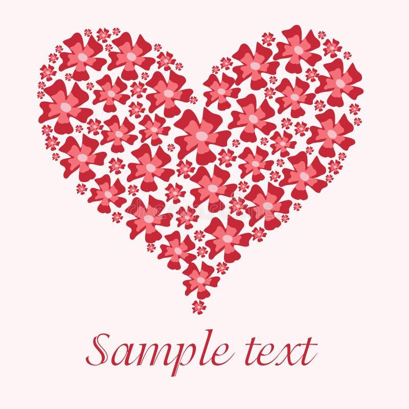 kierowy czerwony valentine ilustracja wektor