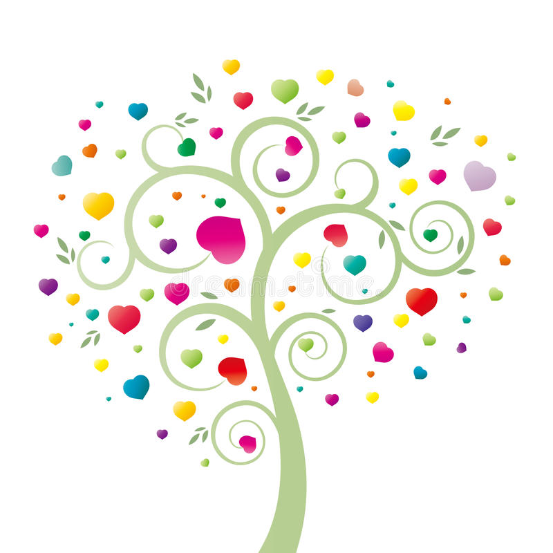 kierowy drzewo royalty ilustracja