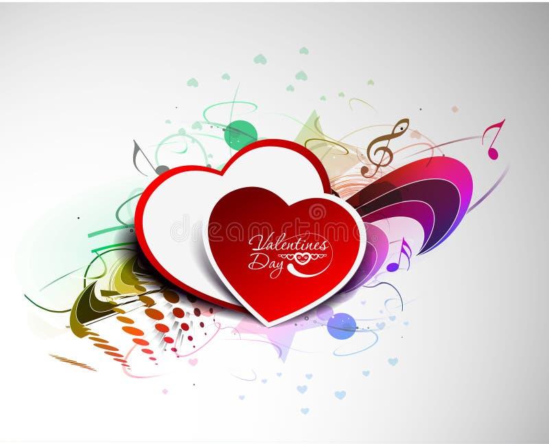 kierowy dzień valentine s ilustracja wektor