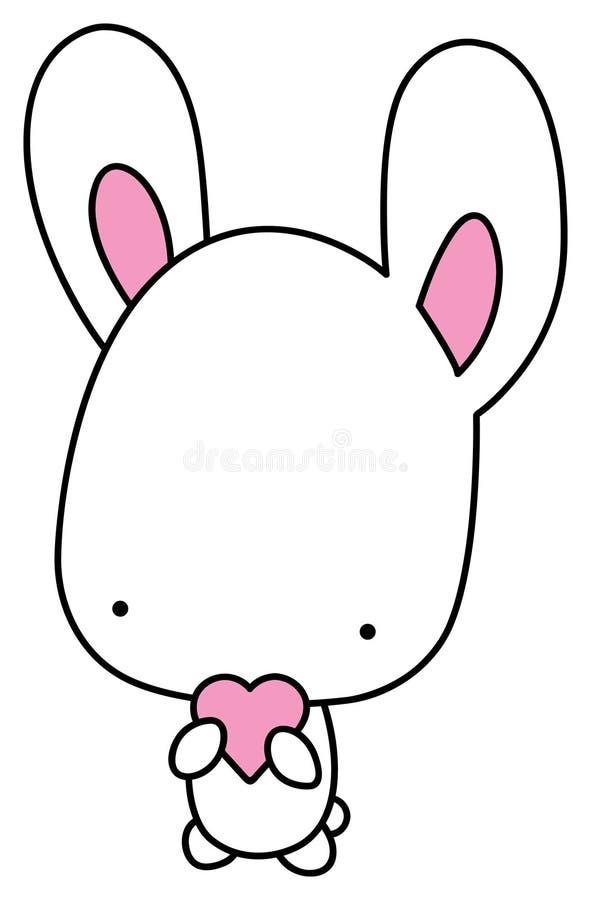 kierowy królik ilustracji