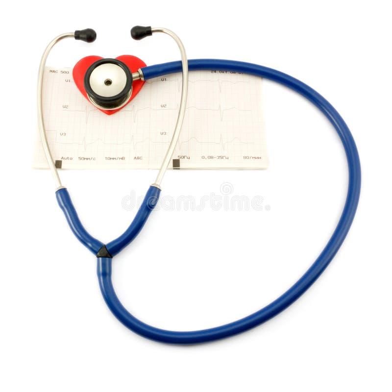 kierowy stetoskop obraz royalty free