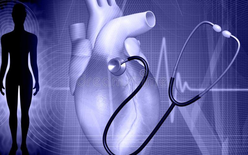 kierowy stetoskop ilustracja wektor