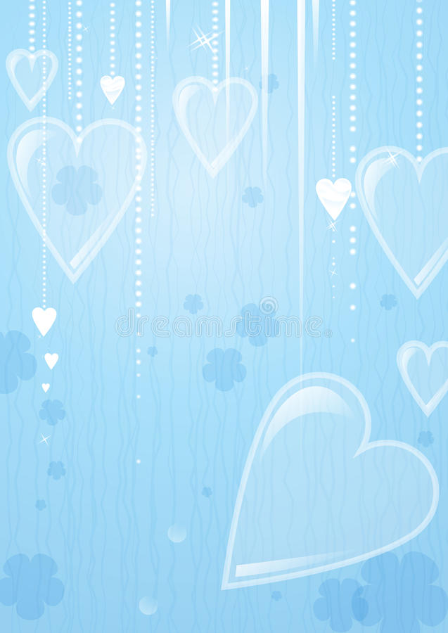 Download Kierowy Valentines Dnia Tło Ilustracja Wektor - Ilustracja złożonej z dekoracje, miłość: 28959501