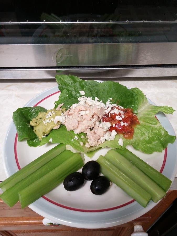 Kierowy Zdrowy lunch obrazy stock