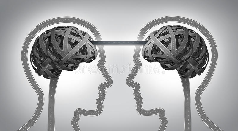 Kierunek komunikacja ilustracji