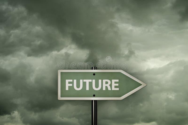 Kierunek przyszłość zdjęcie royalty free
