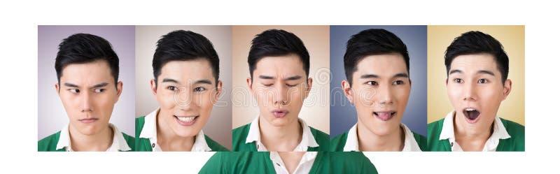 Kies een uitdrukking van gezicht royalty-vrije stock fotografie