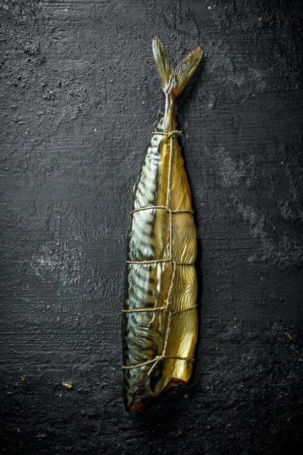 Kies gerookte vissenmakreel uit royalty-vrije stock afbeeldingen