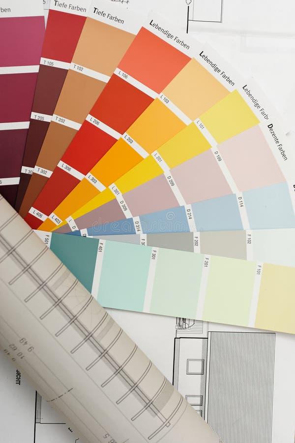 kies kleur stock fotografie