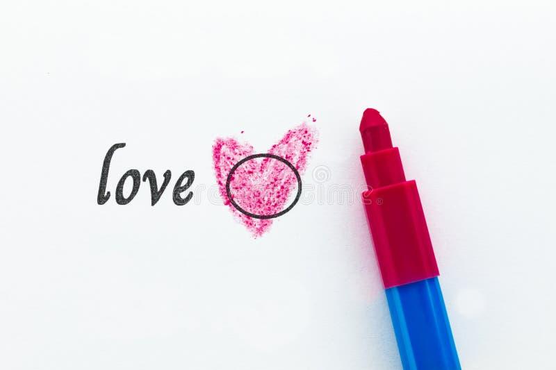 Kies Liefde, Liefdeconcept stock fotografie