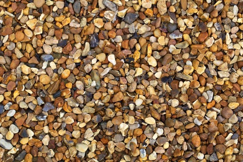 Kies- oder Felsenhintergrund stockfoto