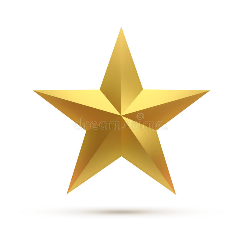 Kies ster uit stock illustratie