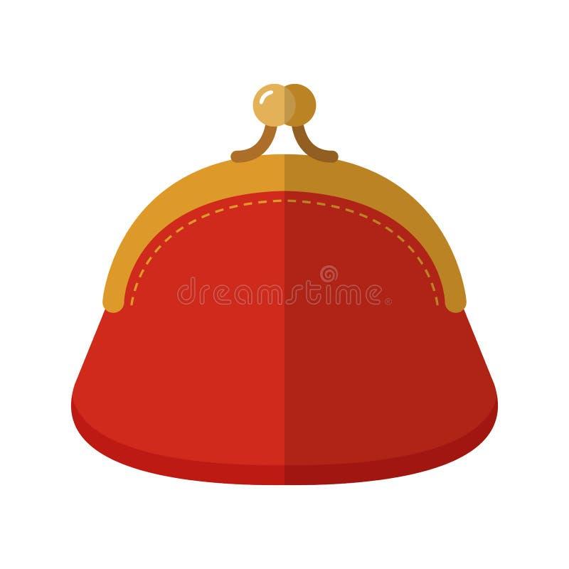kiesa Płaska barwiona ilustracja przedmiot Mody akcesorium wektor royalty ilustracja