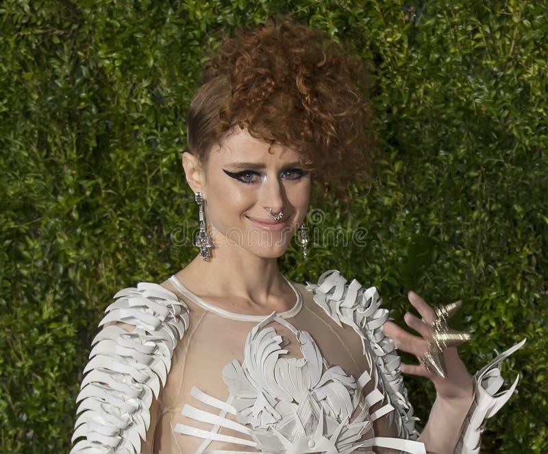 Kiesza em Tony Awards 2015 imagens de stock