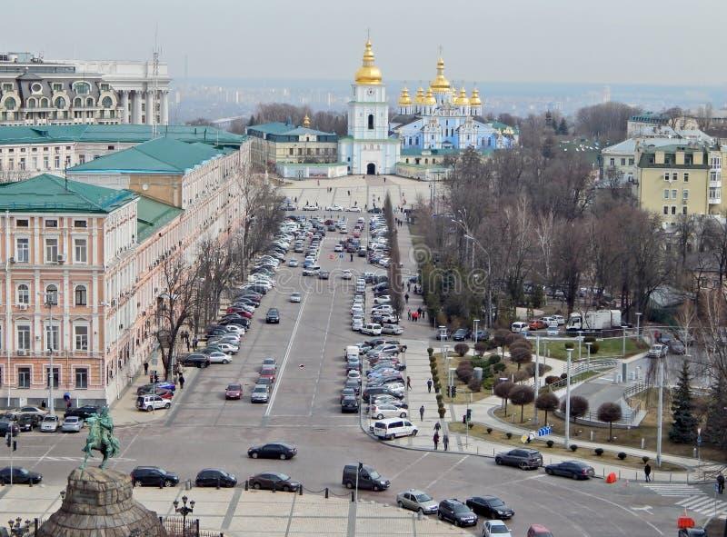 kiev Проход Vladimirsky улицы стоковое изображение