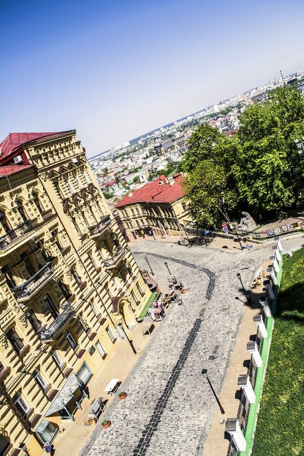Download Kiev obraz editorial. Obraz złożonej z budynek, lato - 53777370