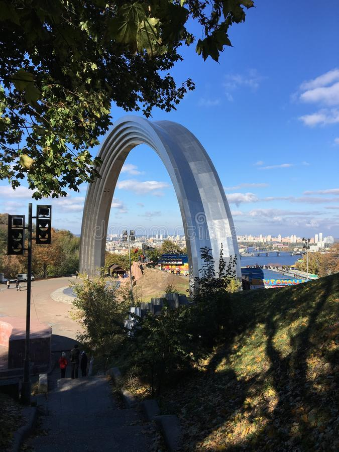 Kiev Archway royalty free stock images