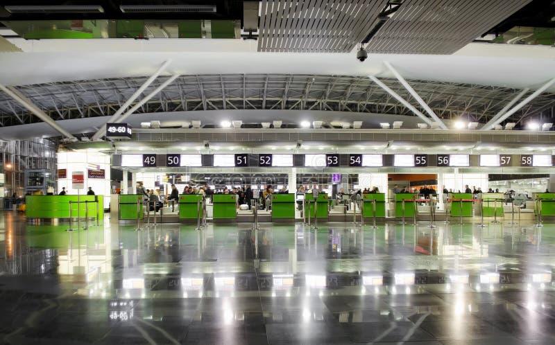 Kiev Borispol flygplats arkivfoton