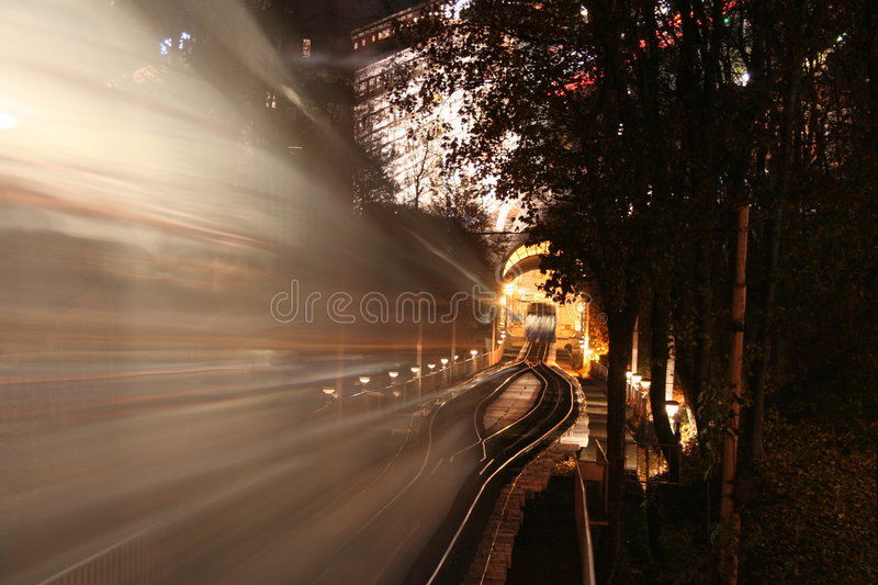 Kiev Cable car royalty free stock photography
