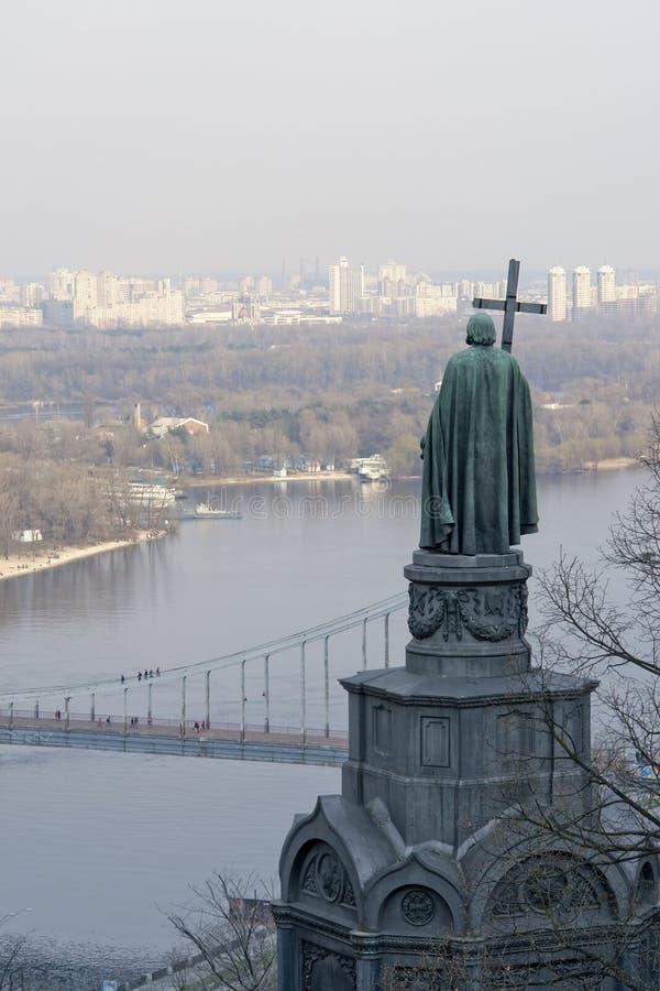 Kiev, the capital city of Ukraine royalty free stock photos