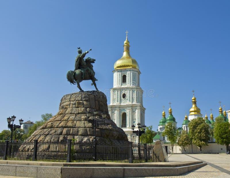 Kiev, cathédrale de Sofiyskiy photos stock