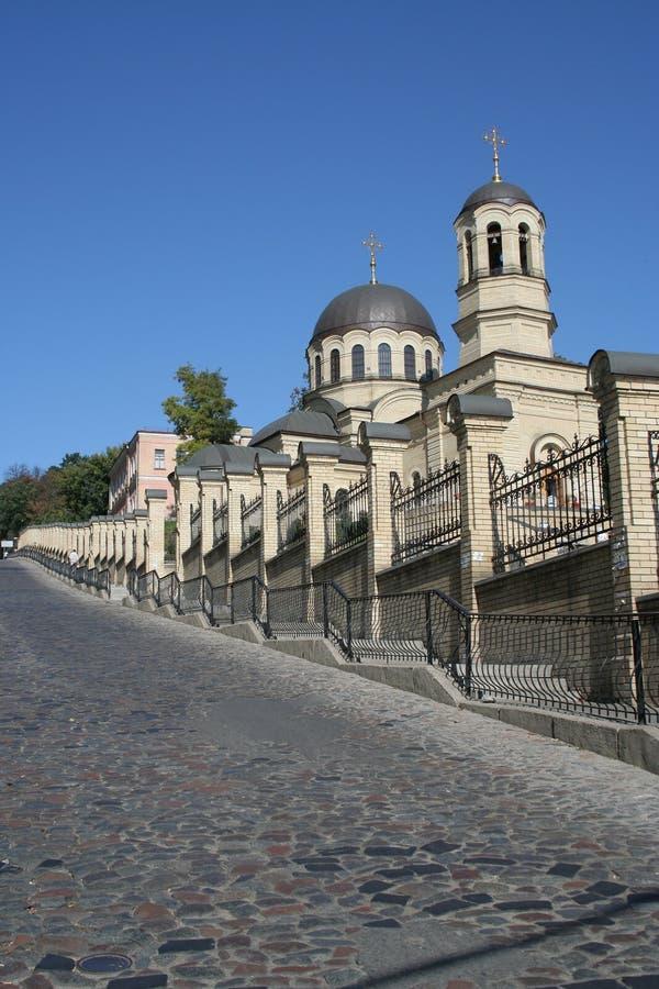Kiev church royalty free stock photo