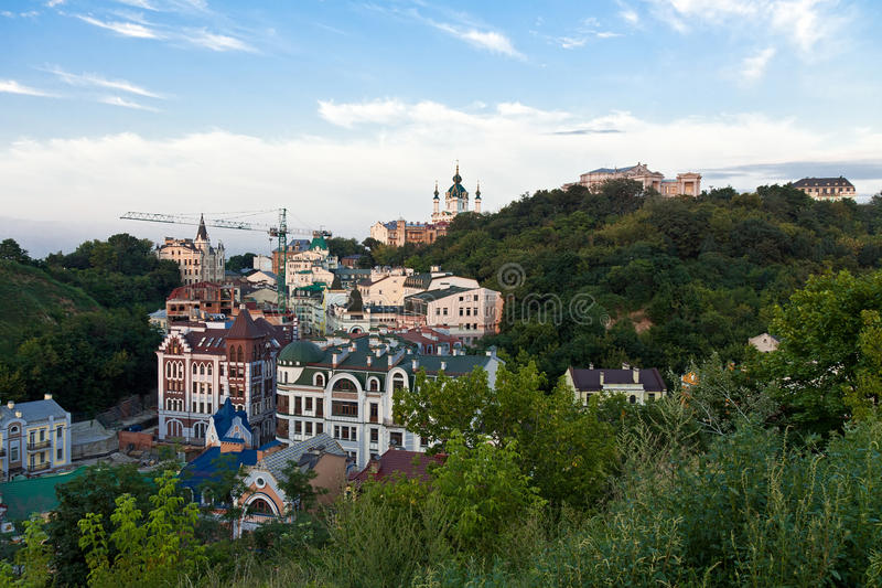 Download Kiev, the city view stock photo. Image of trees, eastern - 20857122