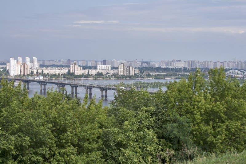 Kiev cityscape royalty free stock photography