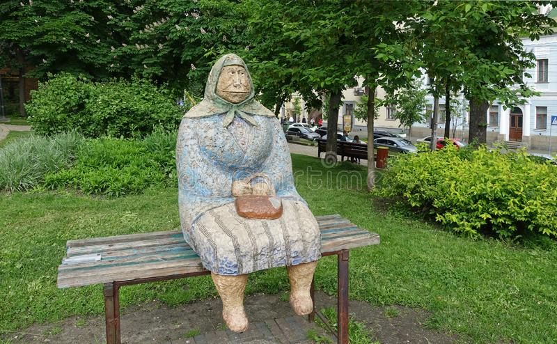kiev Classique de grand-maman de monument images stock