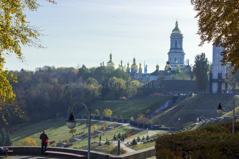 Kiev est le capital de l'Ukraine photos stock