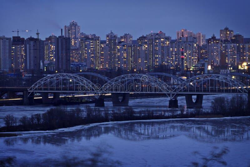 kiev förort ukraine arkivbild