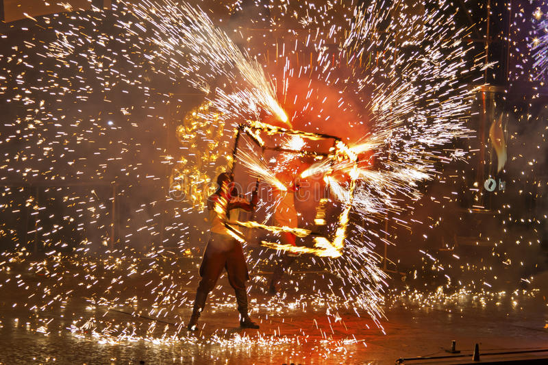 Download Kiev Fire Fest 2011 Editorial Stock Image - Image: 19875474