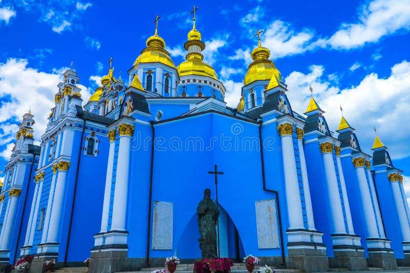 Kiev helgon Michael Monastery 09 royaltyfri bild