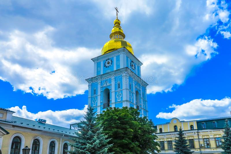 Kiev helgon Michael Monastery 08 arkivbilder