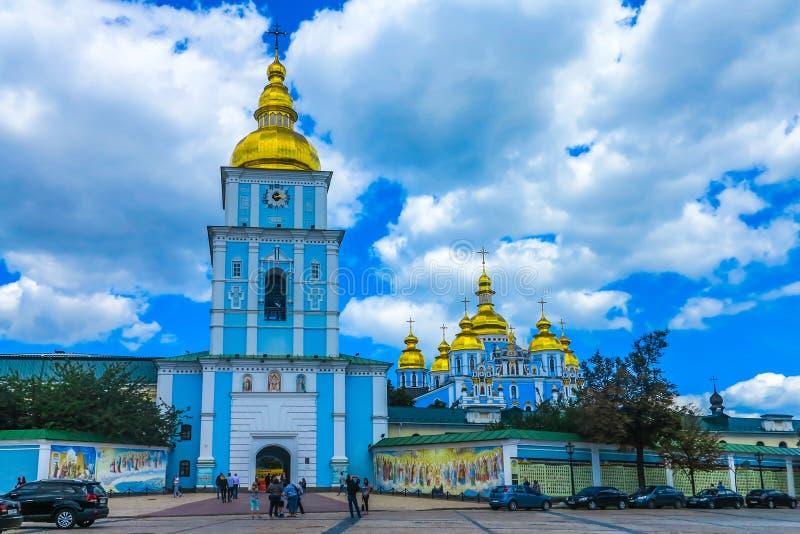 Kiev helgon Michael Monastery 01 royaltyfria bilder