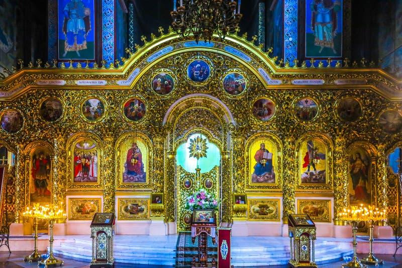 Kiev helgon Michael Monastery 07 arkivbilder