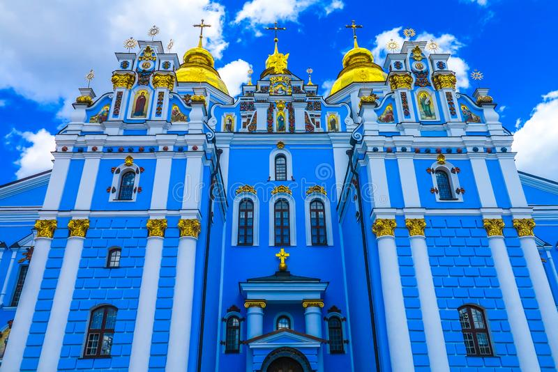 Kiev helgon Michael Monastery 06 arkivbilder