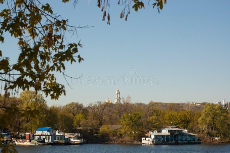 Kiev i morgonen royaltyfri foto