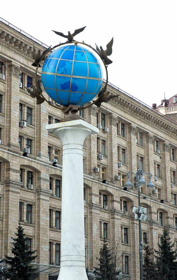 Kiev Maydan 4 stock foto