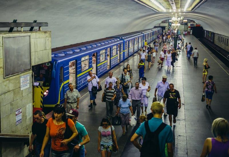 kiev metro zdjęcie stock