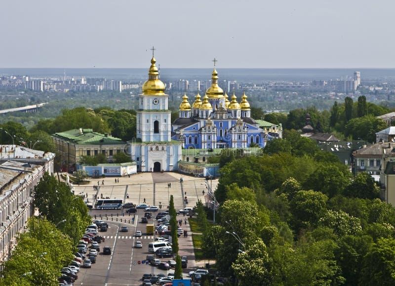 kiev mihaylovskiy kloster ukraine fotografering för bildbyråer