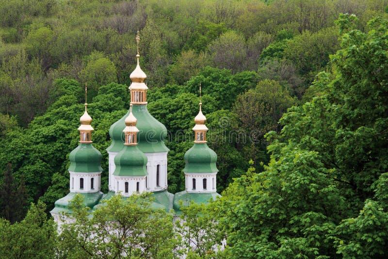 Kiev monastery stock photo