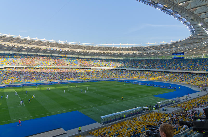 Download Kiev National Stadium, Ukraine Editorial Stock Photo - Image: 25098813