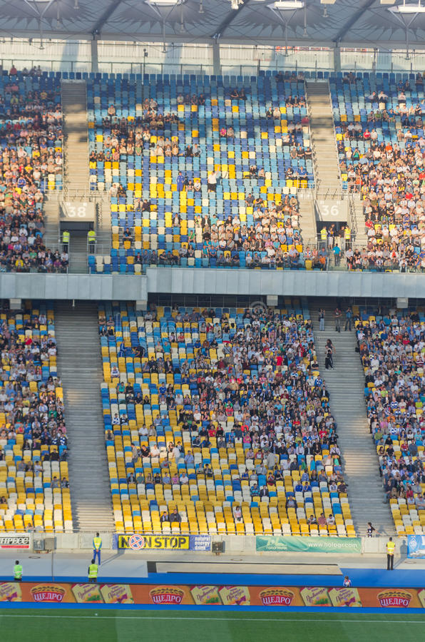 Download Kiev National Stadium, Ukraine Editorial Stock Image - Image: 25098909