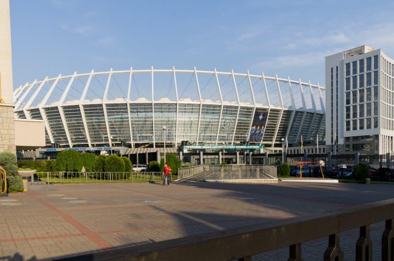 kiev olimpijski stadium widok zdjęcia royalty free