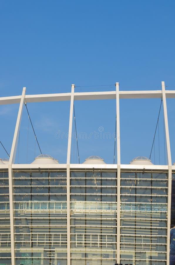 kiev olimpijski stadium widok zdjęcie royalty free