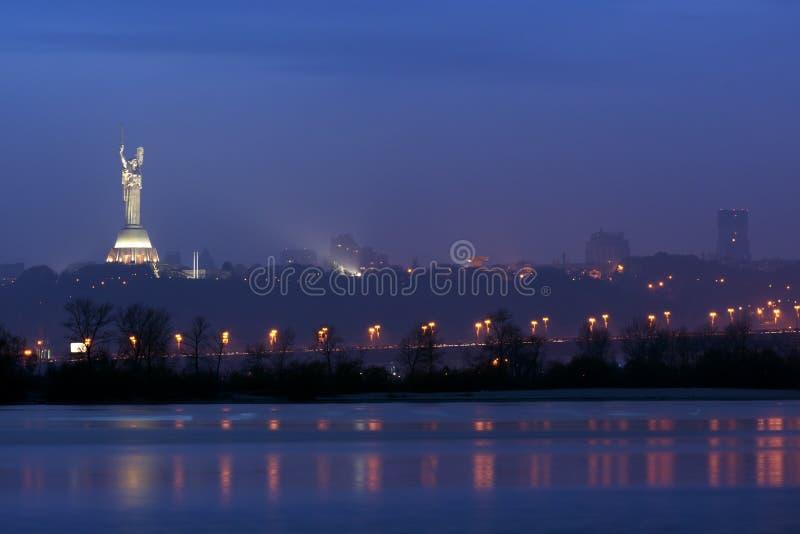 Kiev panorama stock photography