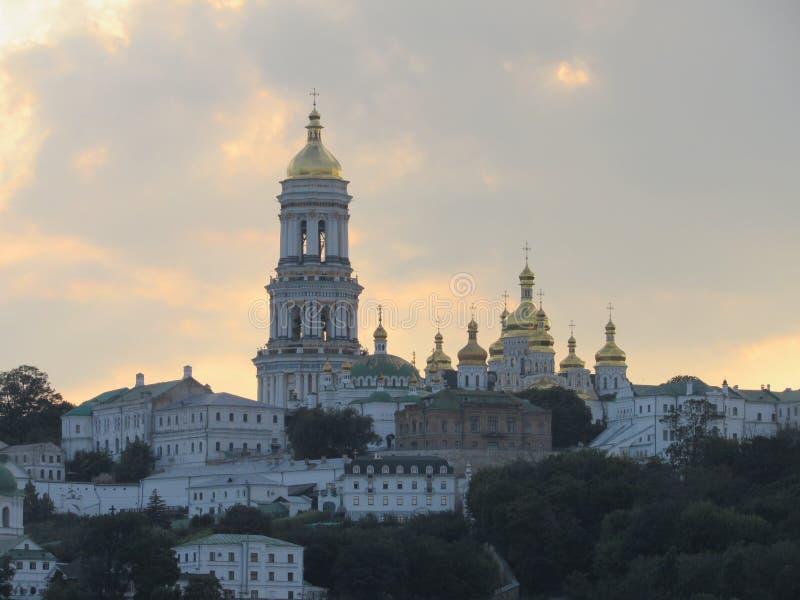 Kiev-Pechersk Lavra, imagens de stock