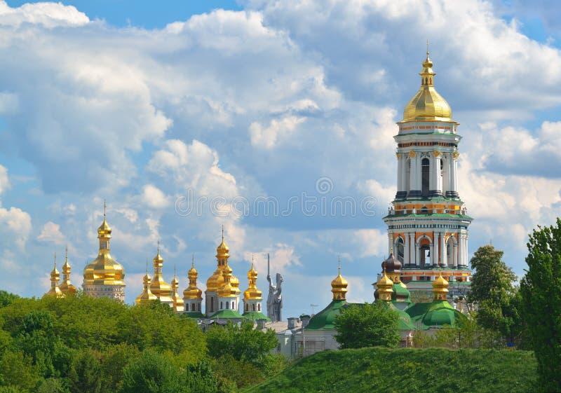 Kiev Pechersk Lavra in Kiev royalty free stock photos
