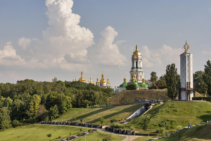 Download Kiev Pechersk Lavra Monastery Stock Image - Image of attraction, ancient: 26795607